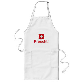 Swiss Proscht! Long Apron
