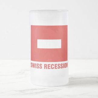 Swiss Recession beer mug