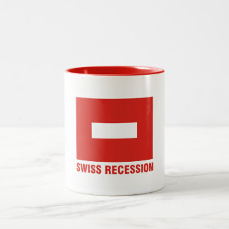 Swiss recession mug