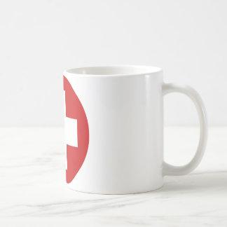 Swiss Red Cross Emergency Roundell Coffee Mug