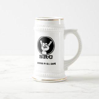 Swiss rock bar jarra de cerveza taza