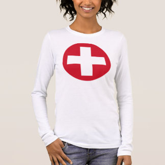 Swiss Roundel Long Sleeve T Long Sleeve T-Shirt