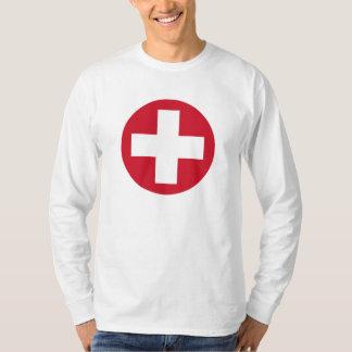 Swiss Roundel Long Sleeve T T-Shirt