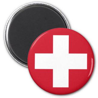Swiss Roundel Magnet