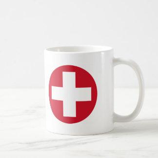 Swiss Roundel Mug