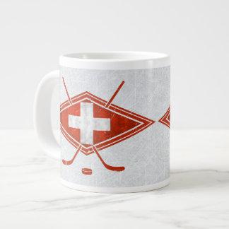 Swiss Schweiz Ice Hockey Flag Mug