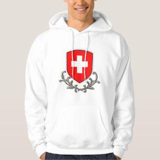 Swiss Scroll Hooded Sweatshirt