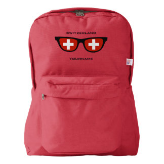 Swiss Shades custom backpacks