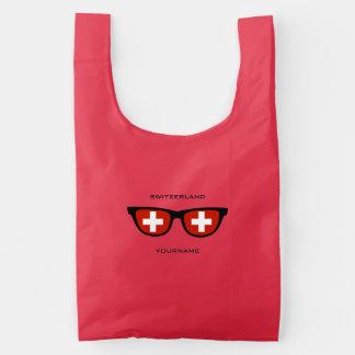 Swiss Shades custom reusable bag