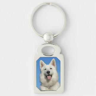 Swiss Shepherd Dog Keychain