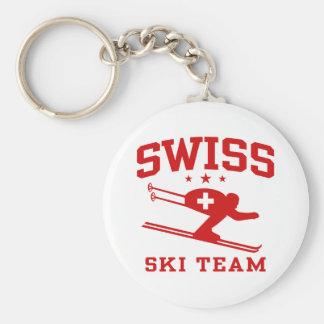 Swiss Ski Team Key Chain