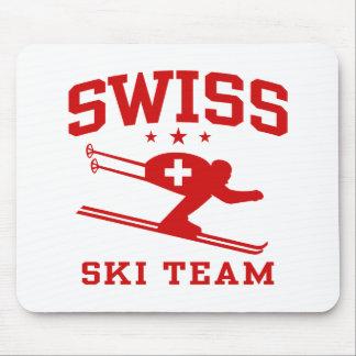 Swiss Ski Team Mouse Pad