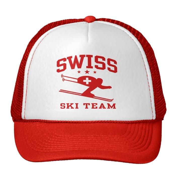 Swiss Ski Team Trucker Hat