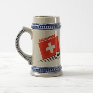 Swiss Soccer Team Beer Stein