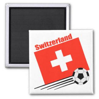 Swiss Soccer Team Magnets