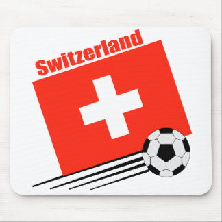 Swiss Soccer Team Mouse Pad