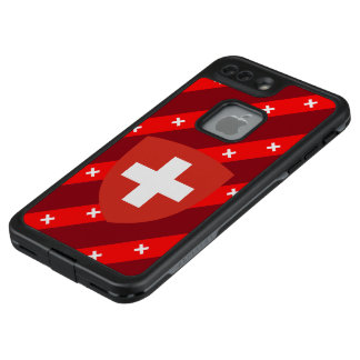 Swiss stripes flag LifeProof FRĒ iPhone 7 plus case