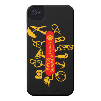 Swiss Summer Knife iPhone 4 Covers
