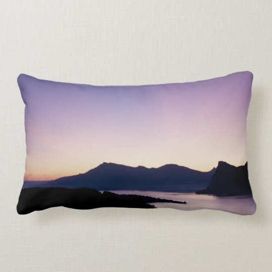 Swiss sunrise cushion