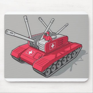 Swiss Tank Mouse Pad