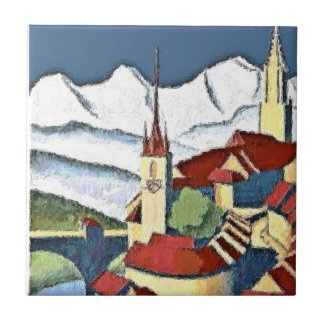 Swiss Town Ceramic Tile