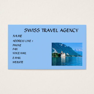 SWISS TRAVEL.. BUSINESS CARD