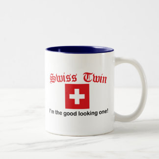 Swiss Twin Good Looking One Two-Tone Coffee Mug