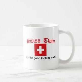 Swiss Twin Good Looking One Classic White Coffee Mug