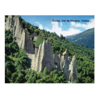 Swiss, Val de Herens, Valais Postcard