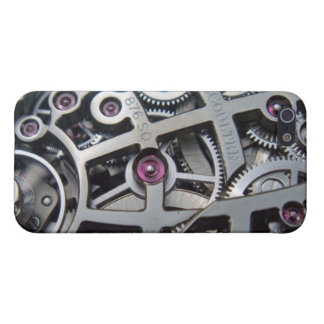 Swiss Watch Gears Vintage Artistic Designs iPhone 5 Case