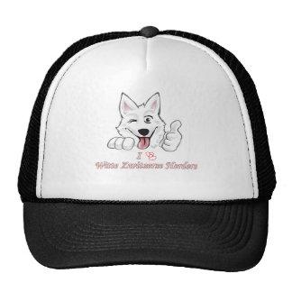 Swiss white shepherd baseball cap