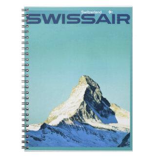 Swissair, Cervino Libreta