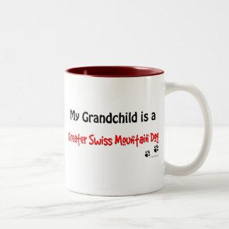 Swissie Grandchild Two-Tone Coffee Mug