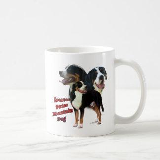 Swissie Trio 2 Classic White Coffee Mug