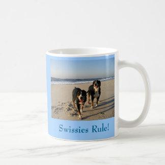 Swissies Rule! Classic White Coffee Mug