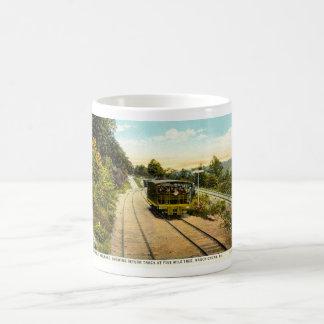 Switch Back Railroad, Mauch Chunk PA 1925 Vintage Coffee Mug