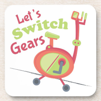 Switch Gears Beverage Coasters