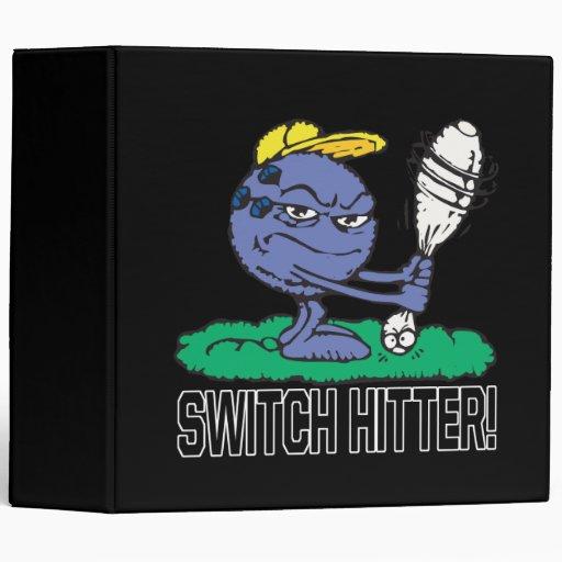 Switch Hitter 3 Ring Binder