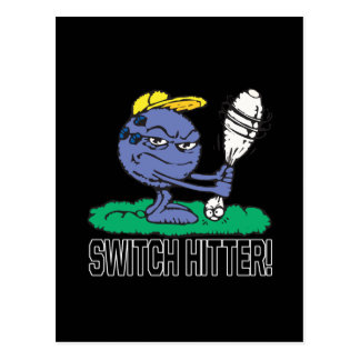 Switch Hitter Postcard