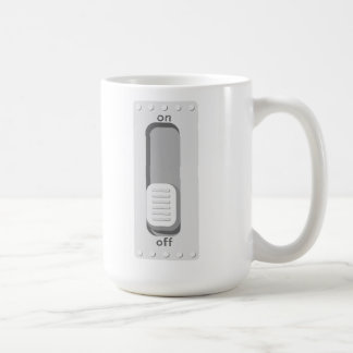 switch it off coffee mug