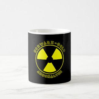 Switch off blackyellow coffee mug
