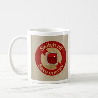 SWITCH OFF SAVE ENERGY cap Mug
