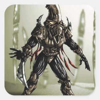 Switchblade Square Sticker
