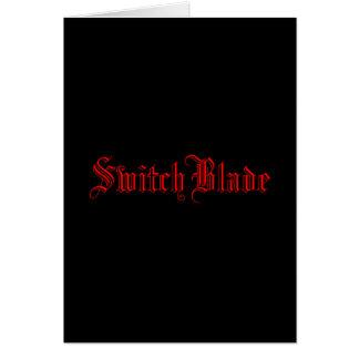SwitchBlade Felicitaciones