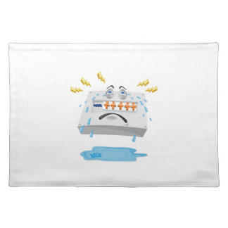 Switchboard Crying Tears Cartoon Placemat