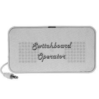 Switchboard Operator Classic Job Design PC Speakers