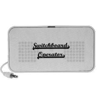 Switchboard Operator Classic Job Design Travel Speaker