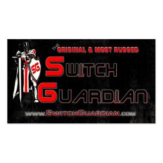 SwitchGuardian Logo Cards Business Cards