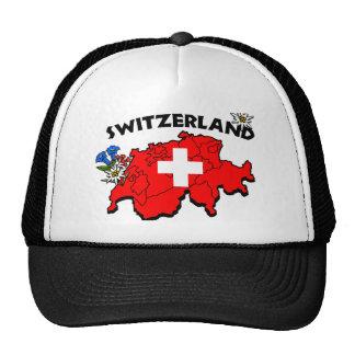Switz Map Cap Trucker Hat
