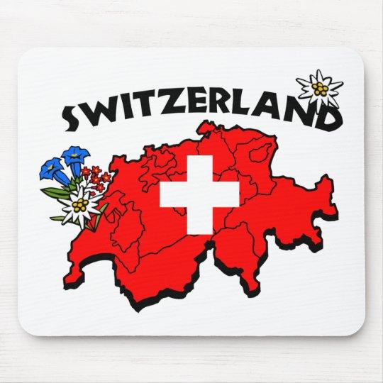 Switz Map Mousepad